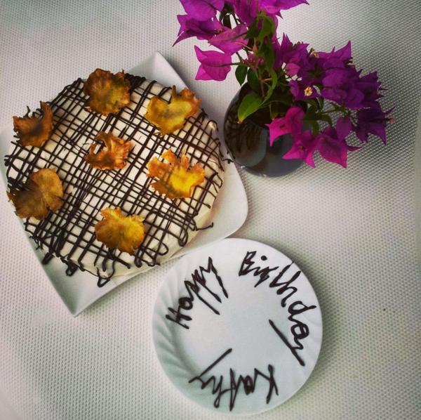 Ein Hummingbird Geburtstagskuchen für Kathy