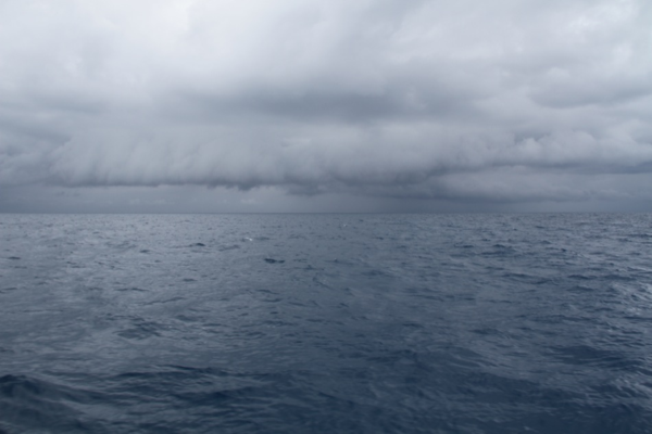 Sailing to Anegada in bad mood