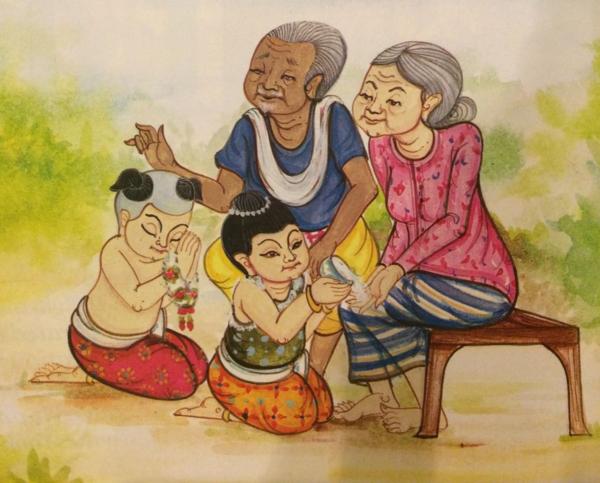 Illustration by Pimviphak Yramsirasuwan- photography out of Swasdee Magazin